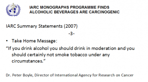 Abb. 7  IARC Monograph klassifiziert alkoholische Getränke als krebserregend -3-